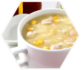 25. Chicken & Sweetcorn Soup
