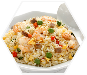 46. King Prawn Fried Rice (Large)